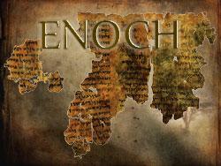 fragments du livre d'Enoch, découverts dans les grottes de Qmran, au bord de la mer Morte.